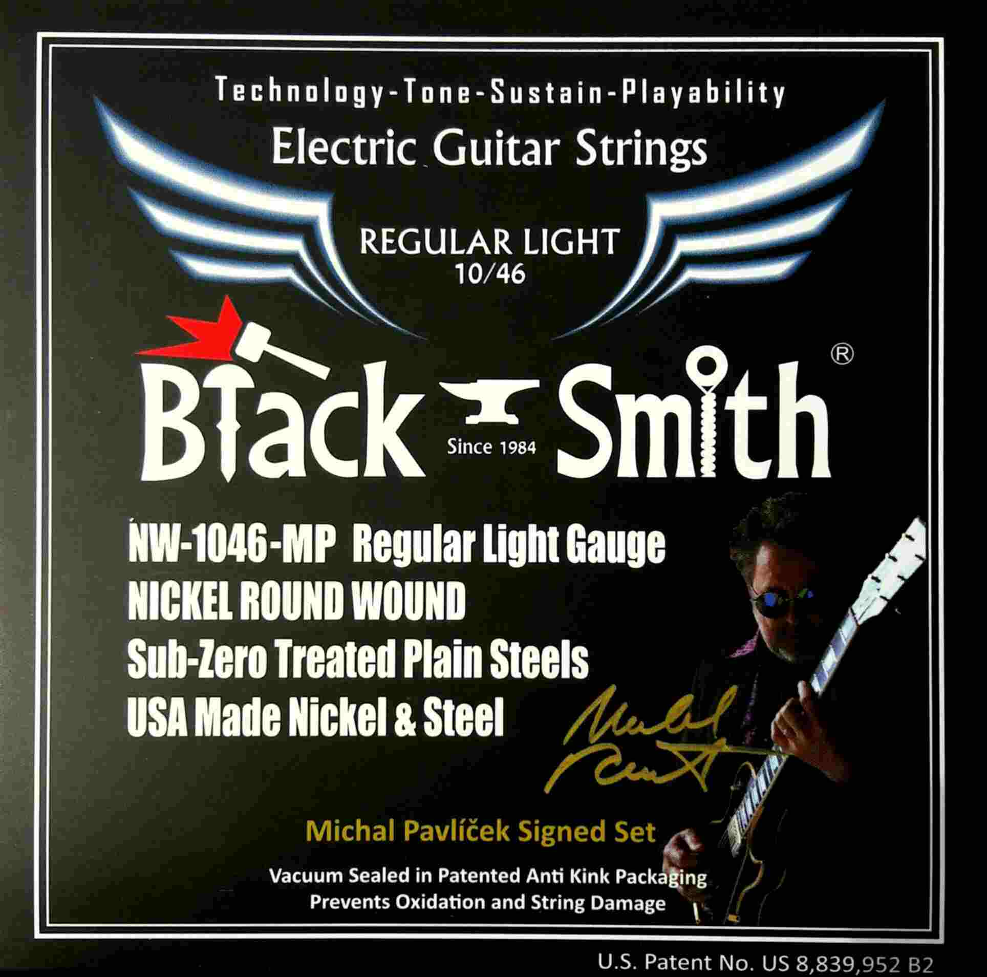 BLACK SMITH Regular light NW-1046 Michal Pavlíček signature