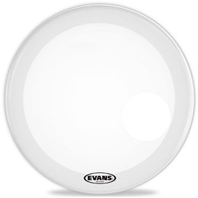 "EVANS 20"" EQ3 RESO SMOOTH WHITE BASS"