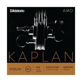 D´Addario KAPLAN AMO violin set 4/4 medium