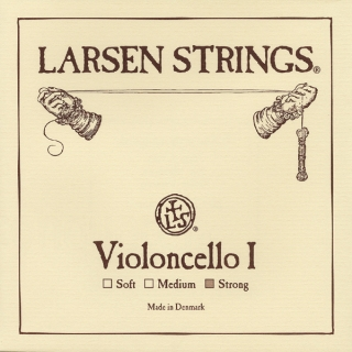 LARSEN original 4/4 struny cello