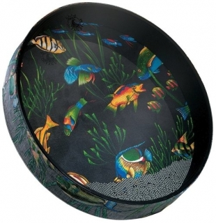 "REMO - OCEAN DRUM 22"" Fish Graphic"